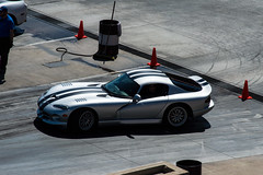 Slithering (sean.m.c photography) Tags: summer black cars silver drag nikon mine stripes tail low fast slide american strip dodge expensive races viper loud coupe supercar carshow v10 gts trackday srt 14mile d3200