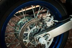 Suzuki DRZ 400SM (Tri Nguyen | P h o t o g r a p h y) Tags: wheel nikon rear engine super motorcycle motor suzuki drz400sm 400cc d700 fix50