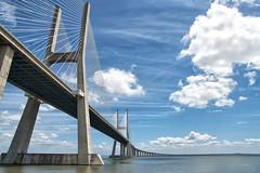 Puente Vasco da Gama (juanjofotos) Tags: bridge puente lisboa cielo nubes geoetiqueta nikond800 puentevascodagama juanjofotos juanjosales