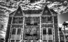Untitled (SlocumPhotography) Tags: street city blackandwhite losangeles 28mm hdr miraclemile pentaxsmc photmatix samsungnx