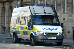 NK06 DVC (S11 AUN) Tags: ford public order pov police northumbria transit vehicle van carrier psu unit suppor nk06dvc