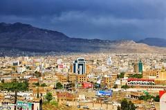 Sana'a (المصور أنس الحاج) Tags: boy portrait canon landscape yemen sanaa taiz مناظر ابداع أطفال اليمن تعز صنعاء وطن براءة canon6d انسانية buildings oldsanaa beautifulview أنسالحاج