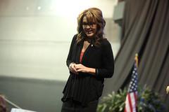 Sarah Palin (Gage Skidmore) Tags: arizona phoenix sarah stand university katie united rally grand canyon we patriot 690 dsouza dinesh palin pavlich