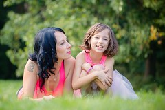 Sima a Zuzanka (Katka S.) Tags: girls two portrait people woman girl fun happy kid funny pretty child daughter mother