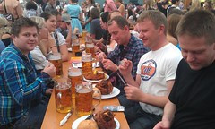 Time at The oktoberfest is real fun and is a social gathering off people from everywhere!