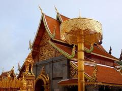 Doi Suthep Temple (stardex) Tags: building architecture thailand temple golden buddhist religion culture chiangmai doisuthep watphrathatdoisuthep stardex