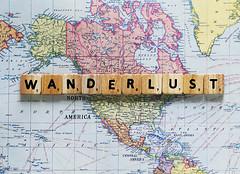 wanderlust ({peace&love}) Tags: road trip travel america words pieces map live wanderlust explore scrabble authentic