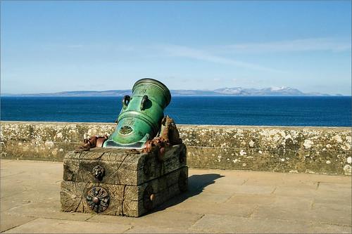 L'Ile d'Arran depuis Culzean Castle...