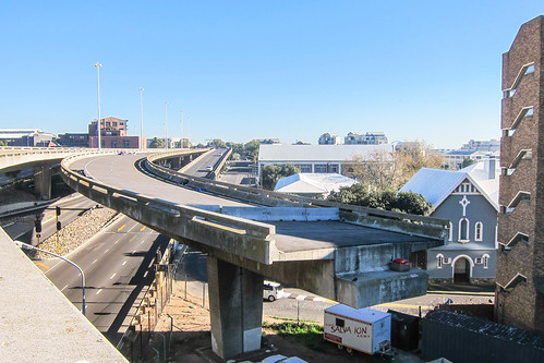 The highway bridge to nowhere, Cape Town by jbdodane, on Flickr