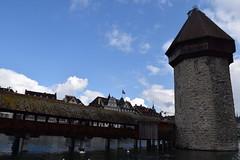 lucerne Kapellbrcke (Chapel Bridge) (tommy.chheng) Tags: switzerland luzern lucerne kapellbrcke