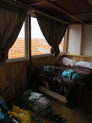 Kamer in het hostel