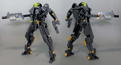 MS HeadHunting (Fezcreation) Tags: mobile gun lego hard suit ms shotgun suite mecha mech minifigure