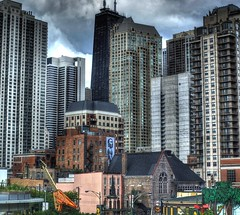 Layers of Chicago (Ken Yuel Photography) Tags: chicago skyscrapers condos hardrockcafe downtownchicago chicagoskyline johnhancockcenter windycity chicagobuildings thewindycity chicagolandmarks chicagocondos chicagoicons kenyuel chicagoshots