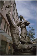 sculpture No.3 | kirchenweg (masine) Tags: film analog flickr minolta kodak nuremberg skulptur manualfocus nürnberg xg2 ektar100
