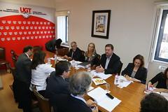 Reunião com a UGT sobre Natalidade