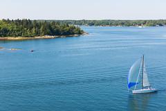 Sailing to Stockholm (Estoy Viajando) Tags: coast sweden sailingboat alandislands
