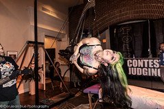 Christina Weaver - Hooks and Halos Suspension Team from Corrupted Arts (~Tara Tyler~) Tags: pierced blackandwhite art tattoo suspension extreme swing burlesque hang halos hooks bodysuspension humansuspension corruptedarts skindicate raleightattoofestival hooksandhalospiercing hooksandhalos suspensionteam