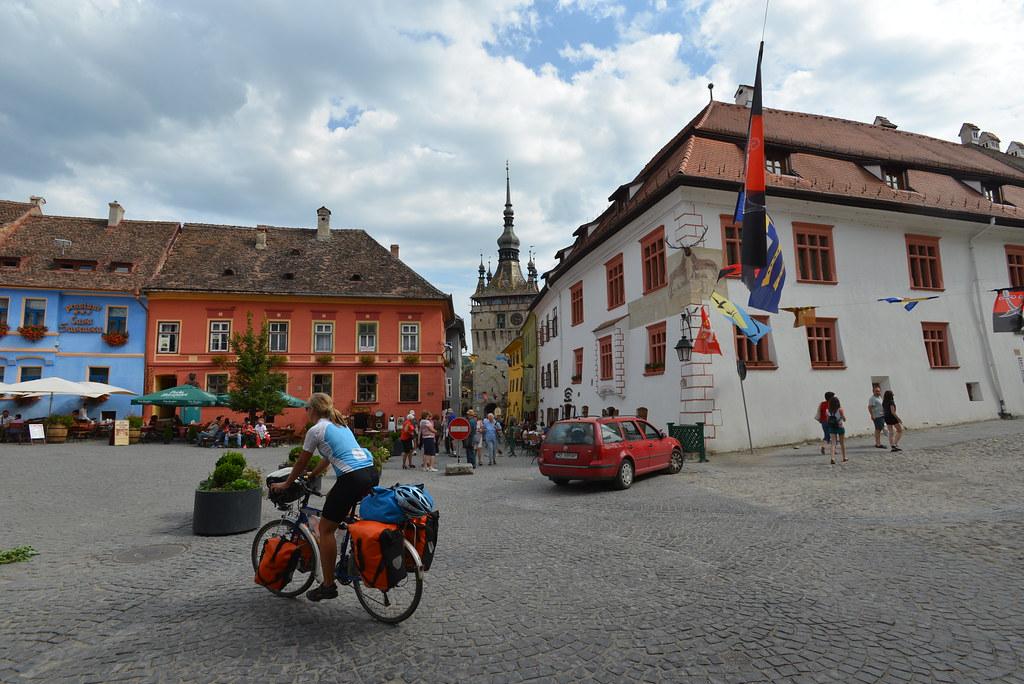 The square in Sighișoara