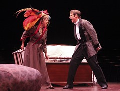 Real-life couple Matthew Ashford and Christina Saffran Ashford as Michael and Agnes in I Do! I Do! at Music Circus August 16-21. Photo by Charr Crail.