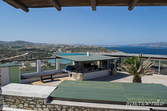 irenes v iew-87 (epistimigallery) Tags: life family blue houses light vacation color castle water pool night swim island mirror cool ship village view balcony room cyan rent villas paros lightlife cycldes