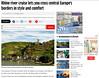 Published - Kaub and Castle Gutenfels on the Rhine, Germany.mirror.co.uk (Batikart) Tags: published ursula sander 2015 batikart