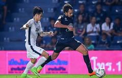 คลิปไฮไลท์ฟุตบอลไทยลีก บุรีรัมย์ ยูไนเต็ด 2-0 พัทยา ยูไนเต็ด