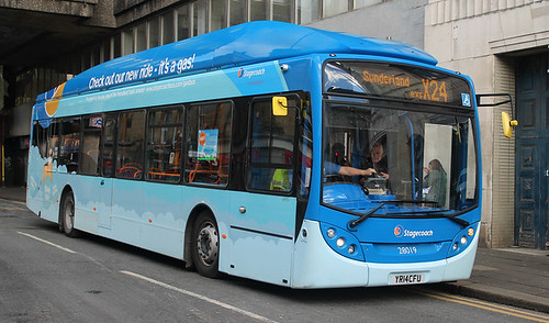 Stagecoach: 28019 YR14CFU Scania K270UB/ADL Enviro 300NG