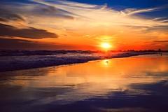 Long Beach Sunset (cr_photo_ny) Tags: sunset newyork ny longisland longbeach clouds sun beach ocean reflection colorful vibrant island sky water