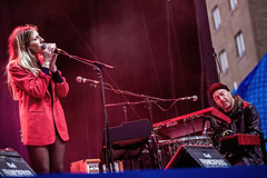 A55T1080 (Nick Kozub) Tags: francofolies ariane brunet outdoor show spectacle energy concert music 1dx canon ef 80200 f28 l montreal 2016 evening performance performer musician festival