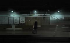 TRAIN (oroyplata.) Tags: train tren conceptual fine darkbeauty shadowatmosphere mood atmosfera oroyplata patraix valencia metro metrovalencia parada stop man hombre travel trip viaje gost fantasma speed velocity world film pelicola