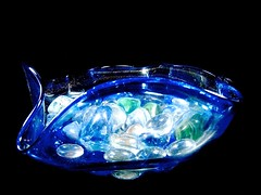 fluted and original (muffett68 ☺☺) Tags: ansh scavenger7 fluted glass bowl imadeit cmwdblue