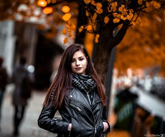 Sandy (Vagelis Pikoulas) Tags: sandy girl portrait model woman bokeh canon 6d tamron 70200mm vc pest budapest hungary november autumn 2016