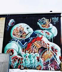 . (SA_Steve) Tags: mural streetart art jerseycity nj newjersey jerseycitynj wall graffiti legalgraffiti creative urban city hudsoncounty hudsoncountynj nychos