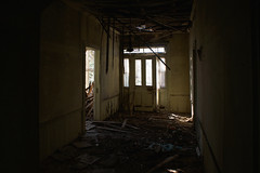unsafe space (History Rambler) Tags: old abandoned antebellum plantation house home rural south historic decay ruin lonely forgotten nc thatdoesntlooksturdy itreallywasnt