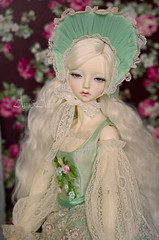 Alpen Mint portrait (AyuAna) Tags: set ball design clothing doll dress little body handmade ooak chloe clothes monica harmony corset bjd dollfie jointed whiteskin ayuana