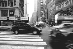 Trying To Cross The Street (J.PerkProductions) Tags: nyc newyorkcity longexposure summer urban newyork portraits buildings downtown cityscape photographer centralpark manhattan streetphotography baltimore timessquare traveling headshots dmv nightphotos uban bmore jeffreyperkins jperkproductions