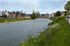 The river Neiße / AG1_8129 (änder grethen) Tags: city river germany saxony twin görlitz ostdeutschland silesia oberlausitz änder distrikt schlesien saxen neise grethen oderneise anderghphoto twincitygörlitzzgorzelec oderneiseline