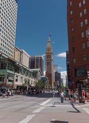 16th Street Mall (BenWestPhotography) Tags: city colorado raw olympus denver co dxo zuiko ep2 pancakelens primelens danielsfishertower olympusdigital mzuikodigital17mm128