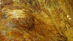 Gossan (Dru!) Tags: outcrop canada stone work rocks iron bc britishcolumbia stained stewart minerals mineral weathered geology pyrite weathering coastmountains eisenhut mineralized gossan ironcap eisernerhut