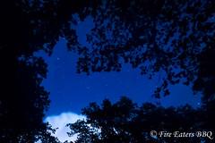 Sternenhimmel ber dem Campingplatz (Fire Eaters BBQ) Tags: deutschland nacht himmel nachtaufnahme sterne kamern sachsenanhalt