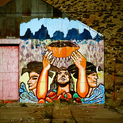 Raise that bowl, brother (MastaBaba) Tags: art argentina inca mural border bowl mendoza andes aconcagua incabridge 20140529