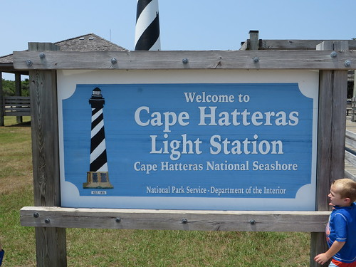 Welcome to Cape Hatteras Light Station (Lighthouse), Cape Hatteras National Seashore, Buxton, North Carolina