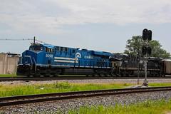 Its the CONRAIL!! (Machme92) Tags: railroad ns norfolk rail trains row rails ge railfan railroads norfolksouthern railroading railfanning gevo railfans newpower ns8098