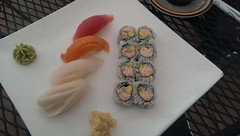 Nigiri (Let Ideas Compete) Tags: california food fish sushi japanese restaurant ginger rice delicious nigiri rolls tuna yurihana