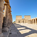 Temple of Isis which was dismateled and moved to Philae island when the Nile was