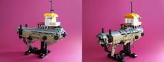 Hover Barge Amy Adams (worker201) Tags: lego space dieselpunk dieselpulp