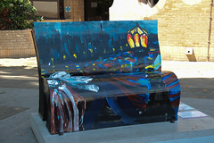 Great Expectations (Mabacam) Tags: london benches dickens 2014 greatexpectations montagueplace ivanliotchev booksabouttown nationalliterarytrust