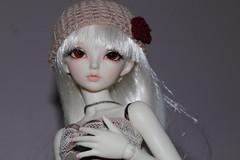 Myca (Silvermasques) Tags: white rose kyle skin steam age blonde albino bjd fl normal fairyland mnf ltf myca minifee rheia littlefee