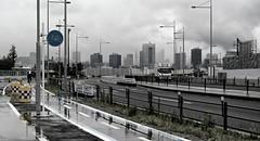 Uncommon Places 153 (Belteshazzar (AKA Harimau Kayu)) Tags: japan tokyo cityscape bayarea tokyotower odaiba urbanlandscape urbanskyline urbanscenery urbanfragments onepointperspective asianlandscape