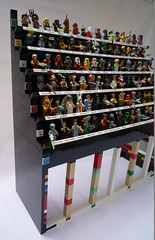 LEGO Collectable Minifigure (CMF) Display Stand (Lucifer Adams) Tags: lego moc afol cmf minifigures displaystand legominifigures